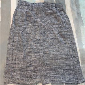 Dresses & Skirts - Vintage blue herringbone pencil skirt